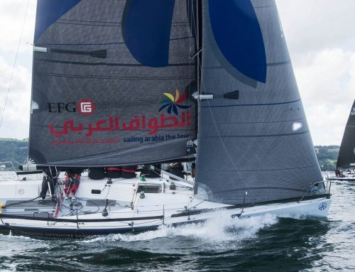 Oman Sail's EFG Sailing Arabia – The Tour Women's Team set to compete at Farr30 Internationals in Sweden