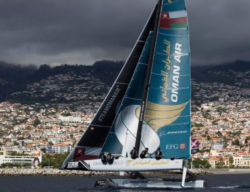 Oman Air in peak form going into final day at Extreme Sailing Series Madeira