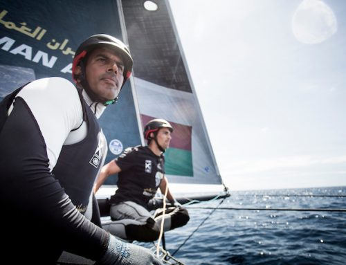 Oman Air stay top of 2016 Extreme Sailing Series table with podium place in Madeira