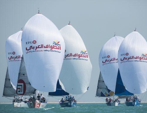 الطواف العربي للإبحار الشراعي ينطلق في نسخته لعام 2017 حاملاً معه فرصًا جديدة لفرق الإبحار الشراعي العالمية