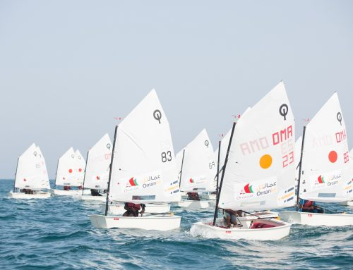 Healthy sailing school rivalries raise standards in Oman Sail's Ranking Races at Mussannah
