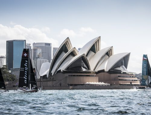 Oman Air lay foundations for gripping duel in final 'must win' Sydney Extreme Sailing campaign
