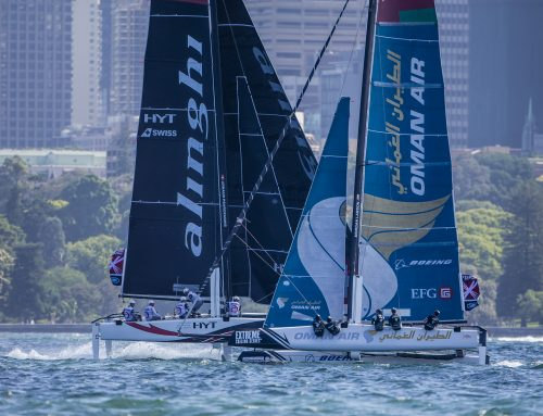 Team Oman Air finish second overall in 2016 Extreme Sailing Series after finishing third in Sydney