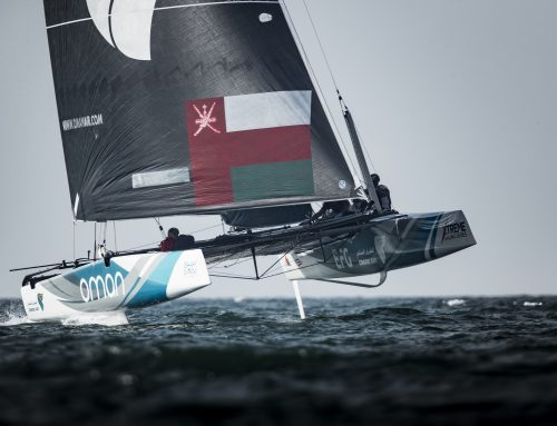 Team Oman Air takes a narrow lead at the half-way point in Muscat