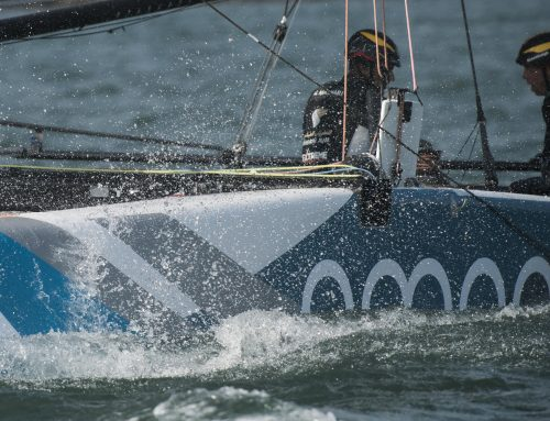 Team Oman Air promise to bounce back after frustrating opener to Extreme Sailing Series round two