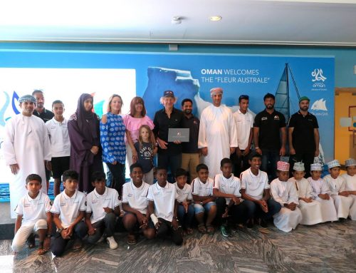 Renowned French yachtsman concludes a visit to remember in Oman