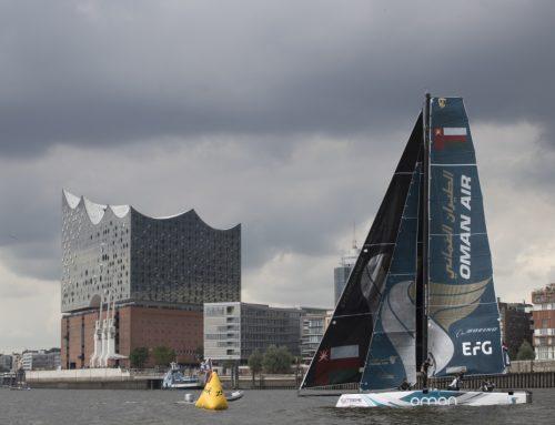 Oman Air team hopes history will repeat itself at Extreme Sailing Series Cardiff