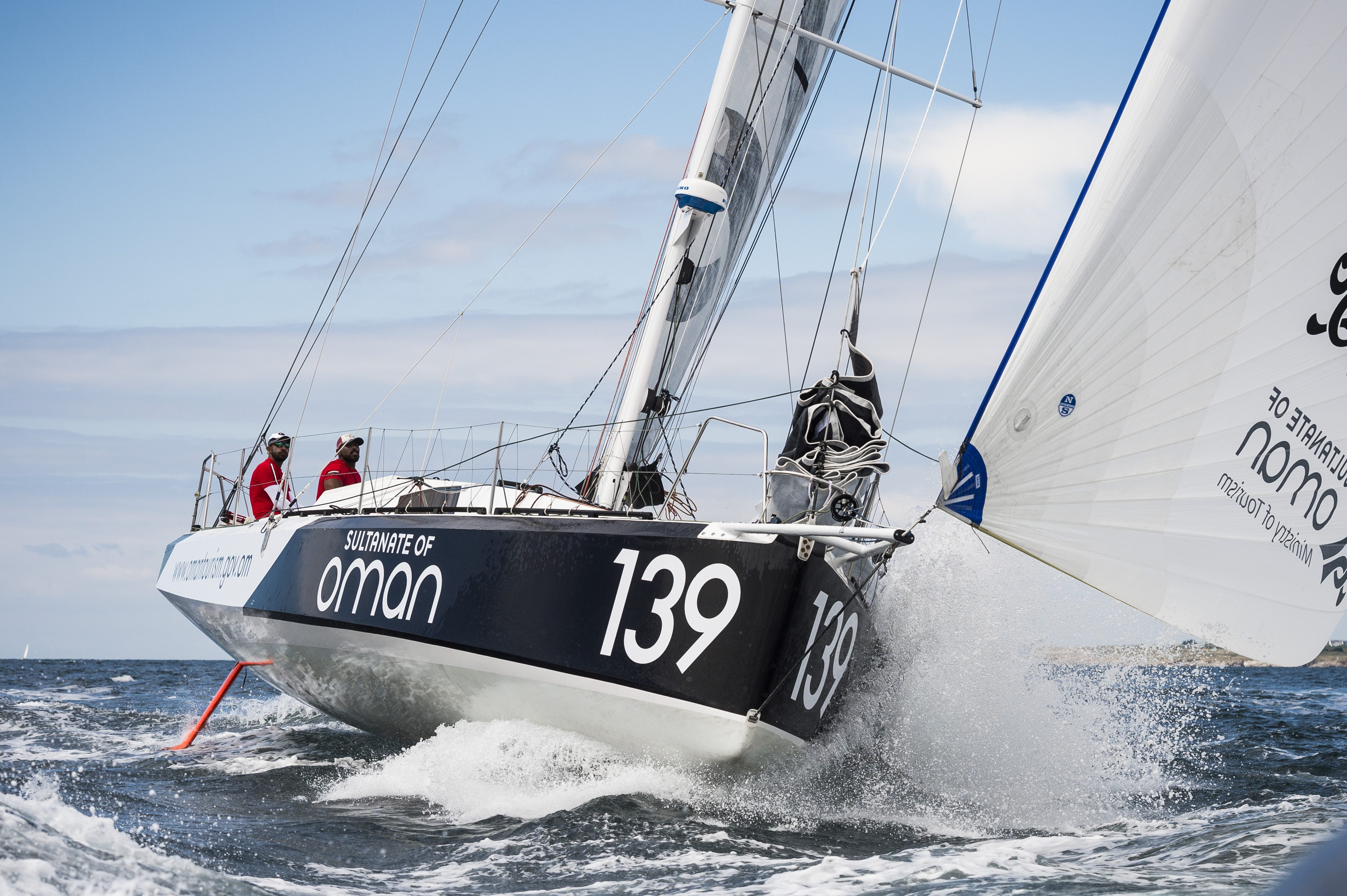 Oman Sail's Class 40 team quietly confident as they make final preparations for the Transat Jacques Vabre
