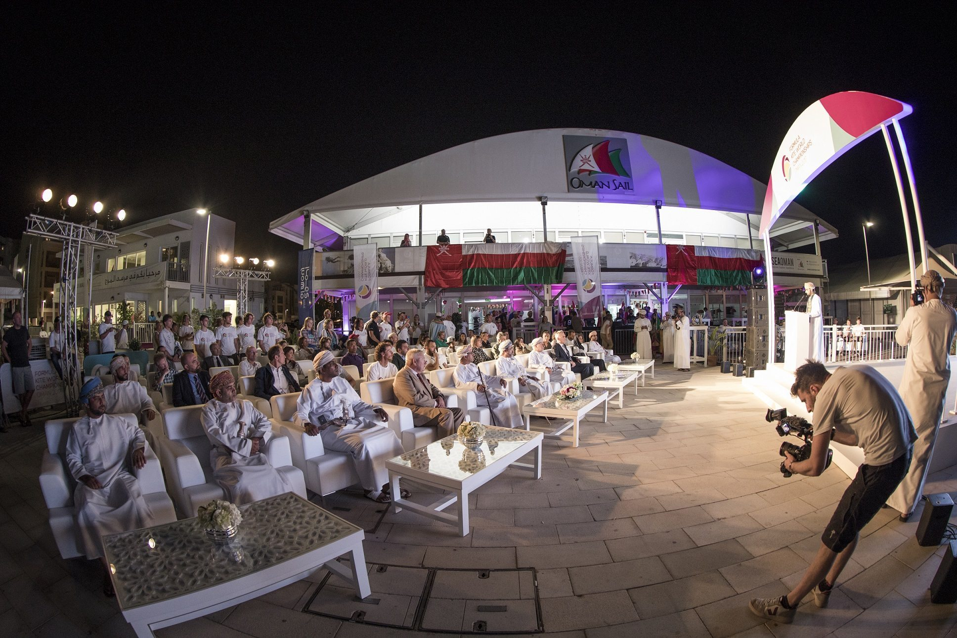 The 2017 IKA Formula Kite World Championships officially opened in Al Mouj Muscat