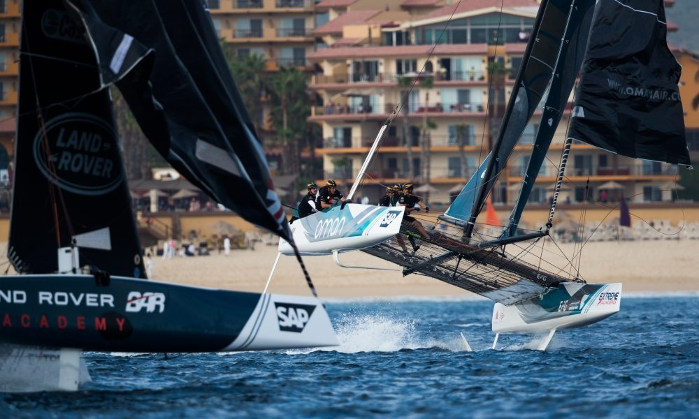 Team Oman Air steady in second as Extreme Sailing Series season reaches its Mexican showdown