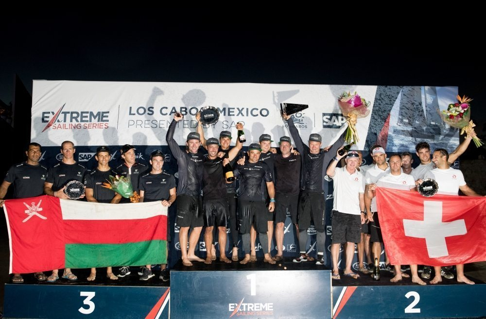 Team Oman Air pull off double race wins in a dramatic conclusion to the Extreme Sailing Series