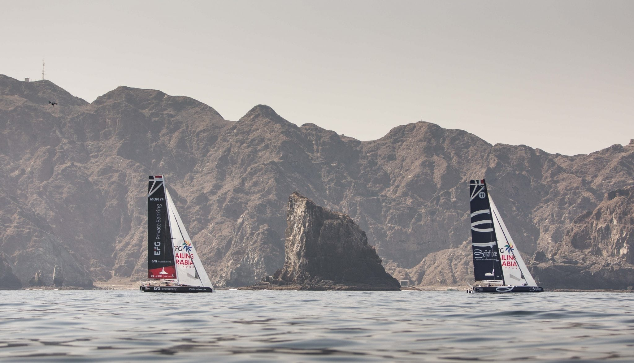 Beijaflore close to victory as EFG Sailing Arabia – The Tour reaches finale