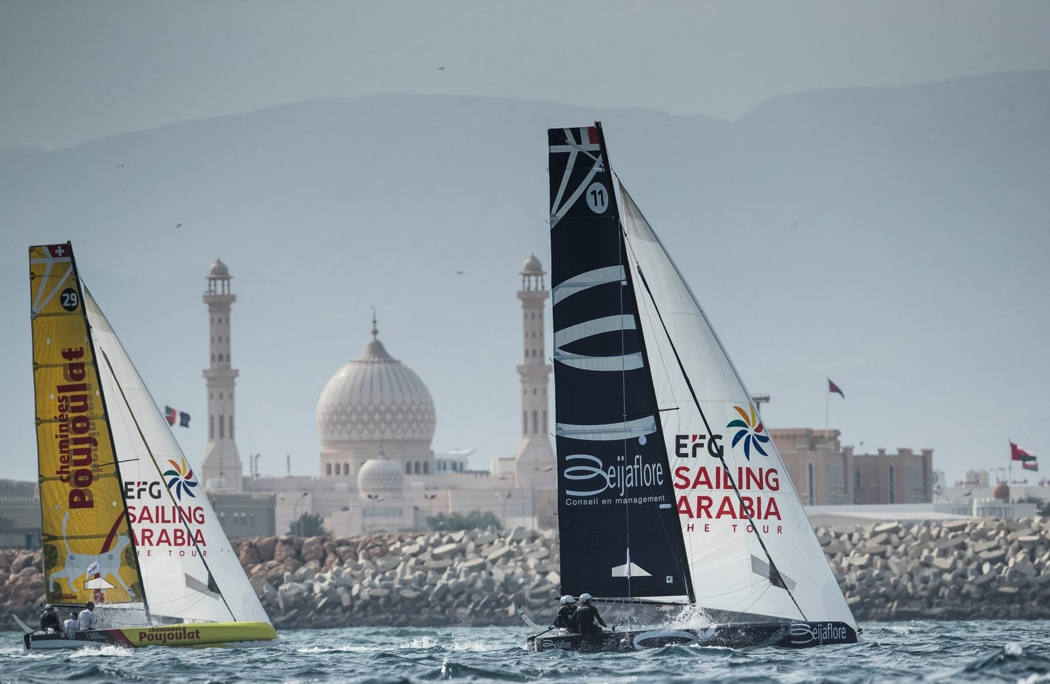 Three from four for Beijaflore as they win EFG Sailing Arabia – The Tour's penultimate coastal raid