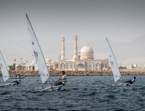 Young racers from Oman Sail schools gather in Sur for highlight of the national youth season