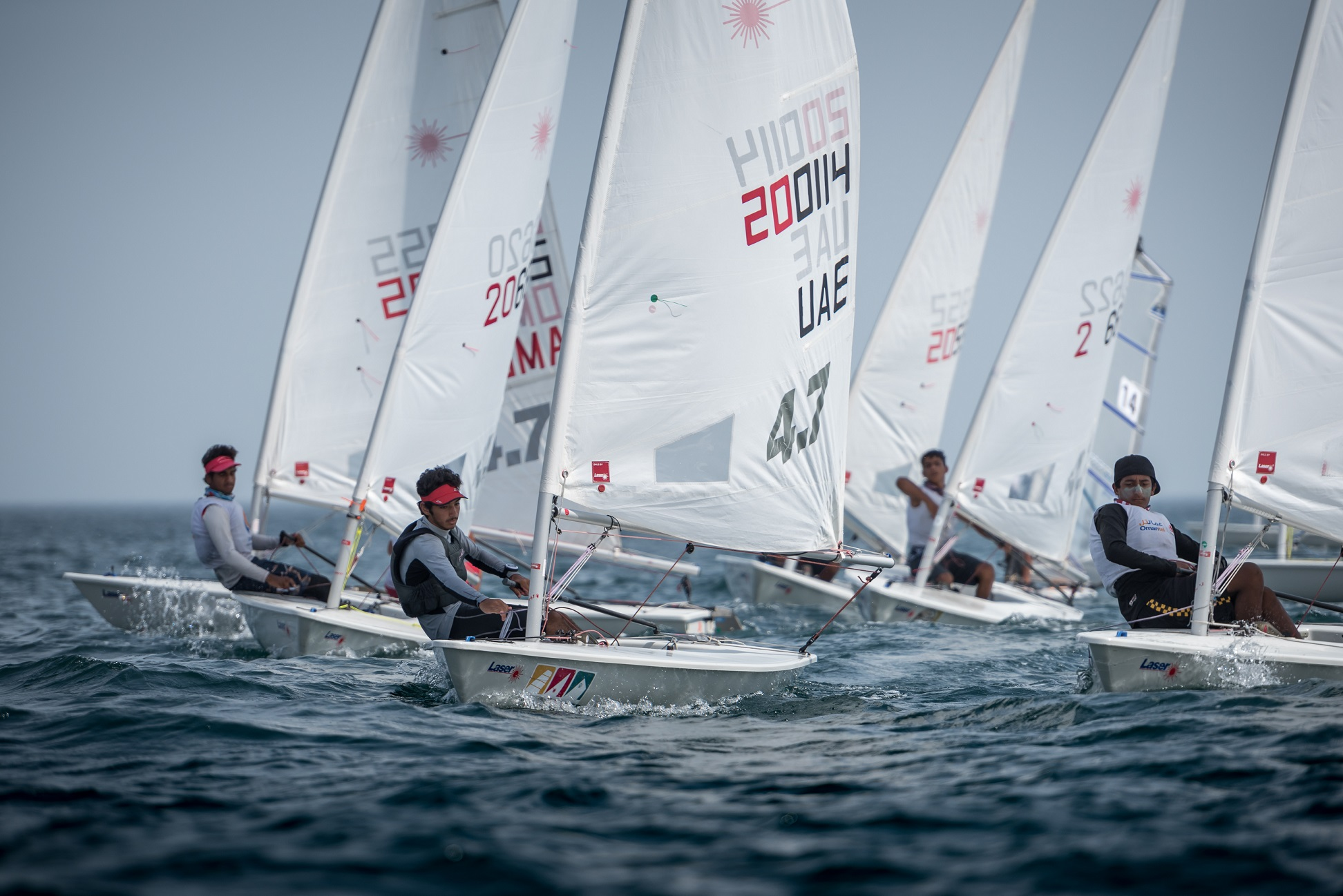 Omantel youth team is going for gold at Laser 4.7 Youth World Championships in Poland