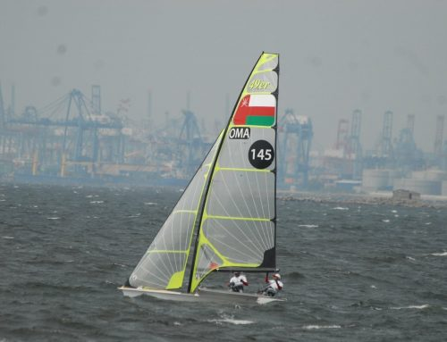 Oman Sail team show competitive spirit at Asian Games