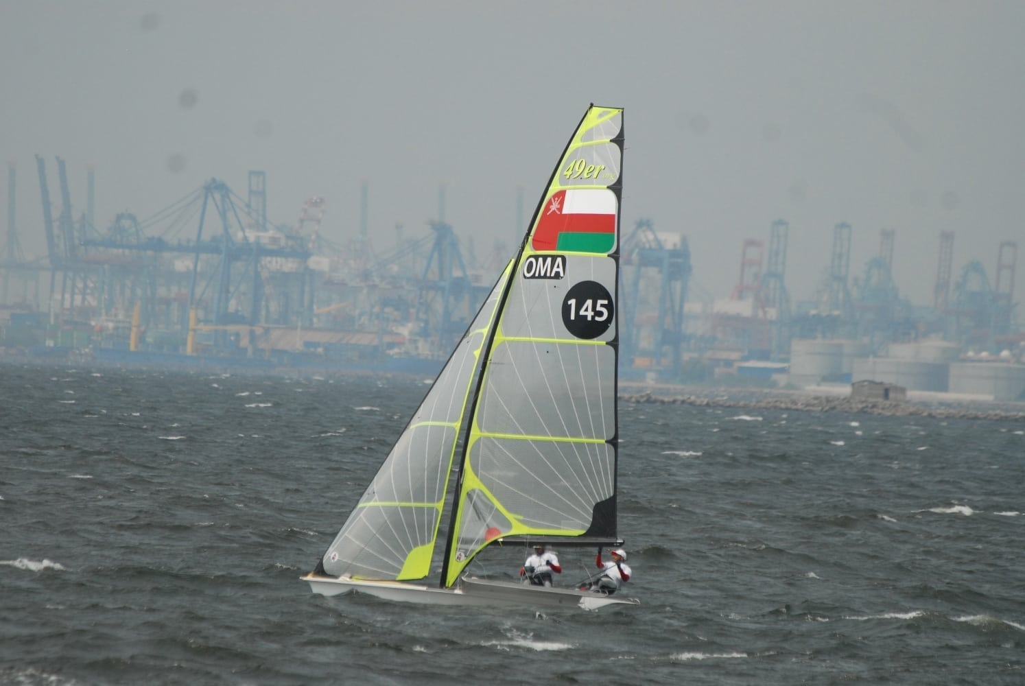 Oman Sail team show competitive spirit at Asian Games