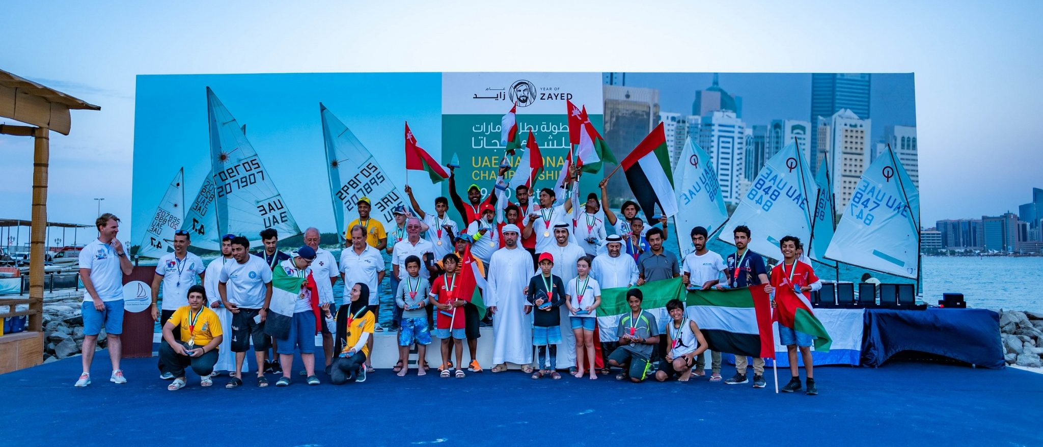 Young Oman Sail racers earn a clean sweep of class victories