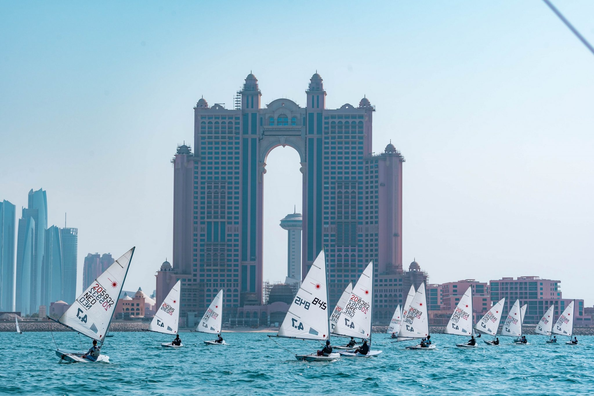 Omani sailors dominate in UAE National Day Regatta