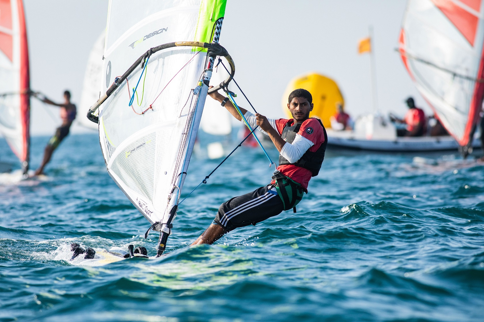 Young sailors seize opportunity to impress Oman Sail's national team selectors