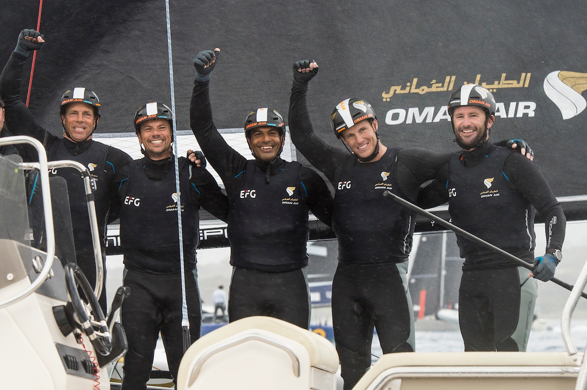 Team Oman Air get their new racing campaign off to winning start