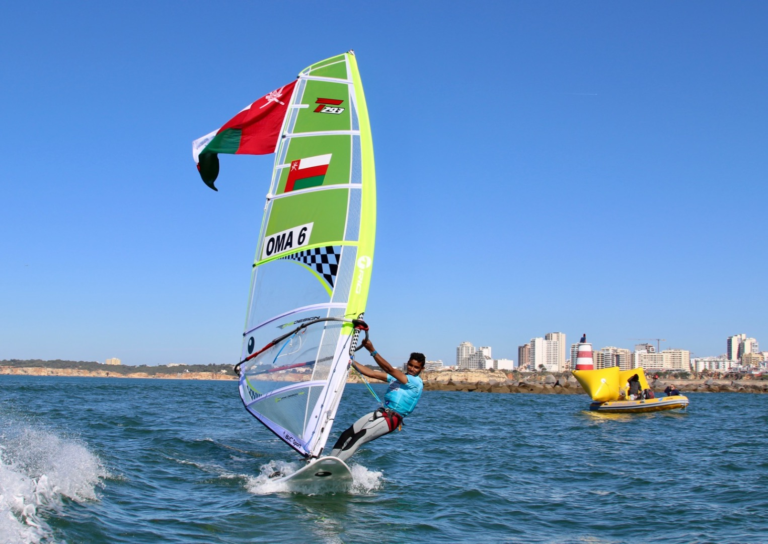Oman wins first ever windsurfing world championship silver medal