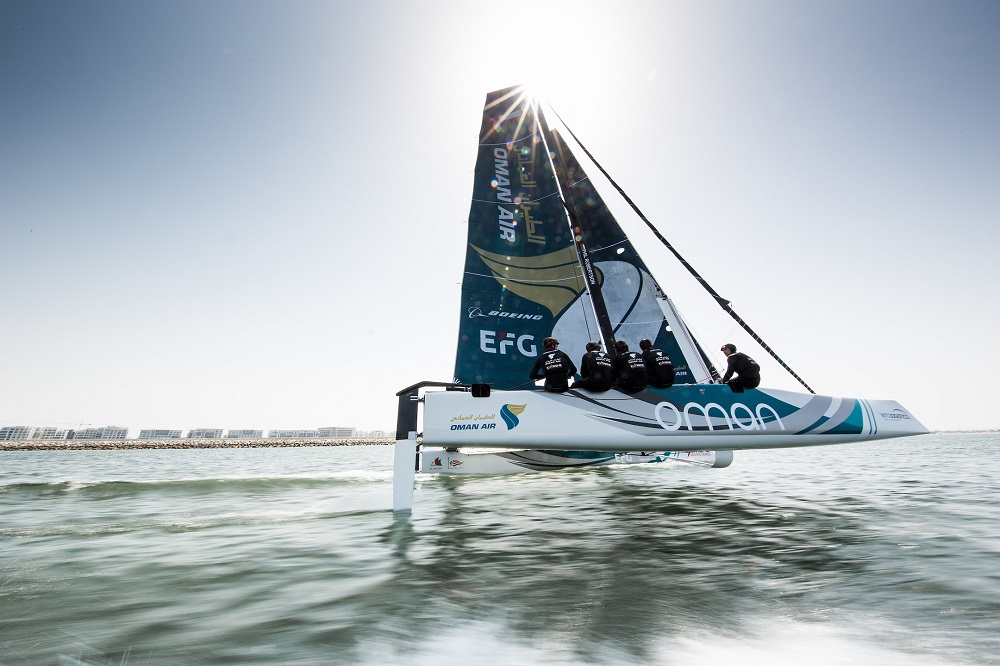 Team Oman Air is all set for a new challenge on the GC32 Racing Tour