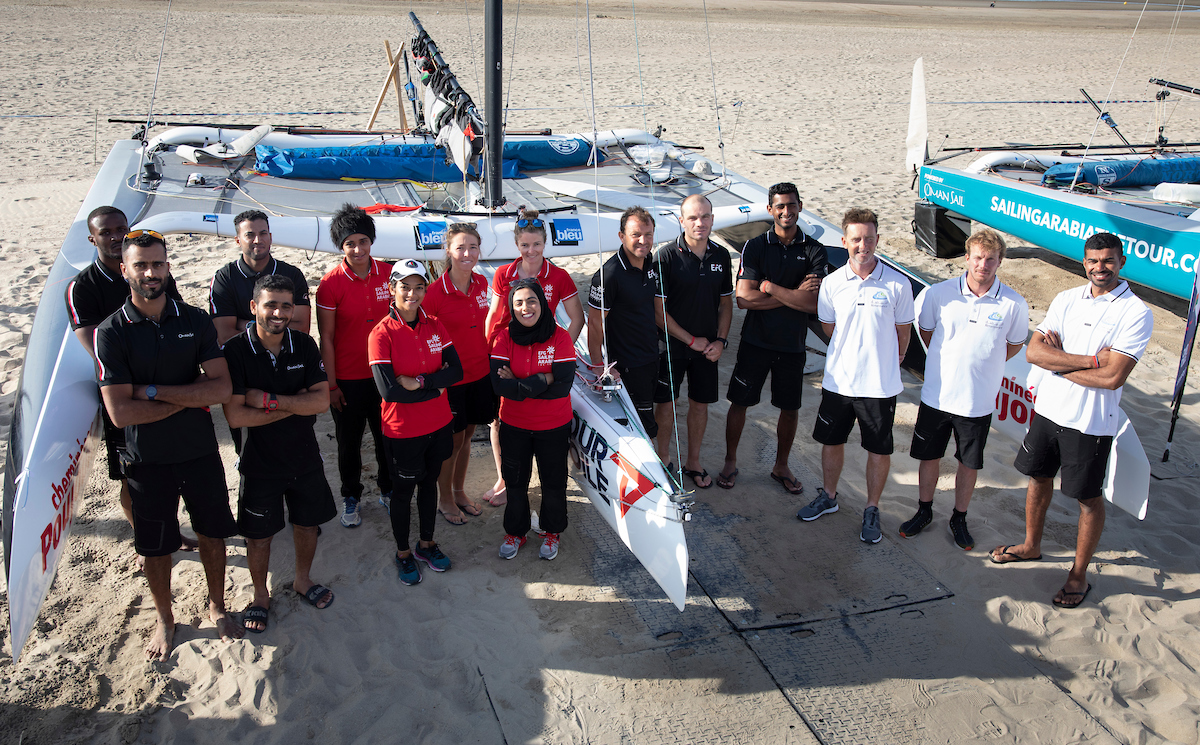 Four racing teams aim to celebrate Oman Sail anniversary with success in Tour Voile