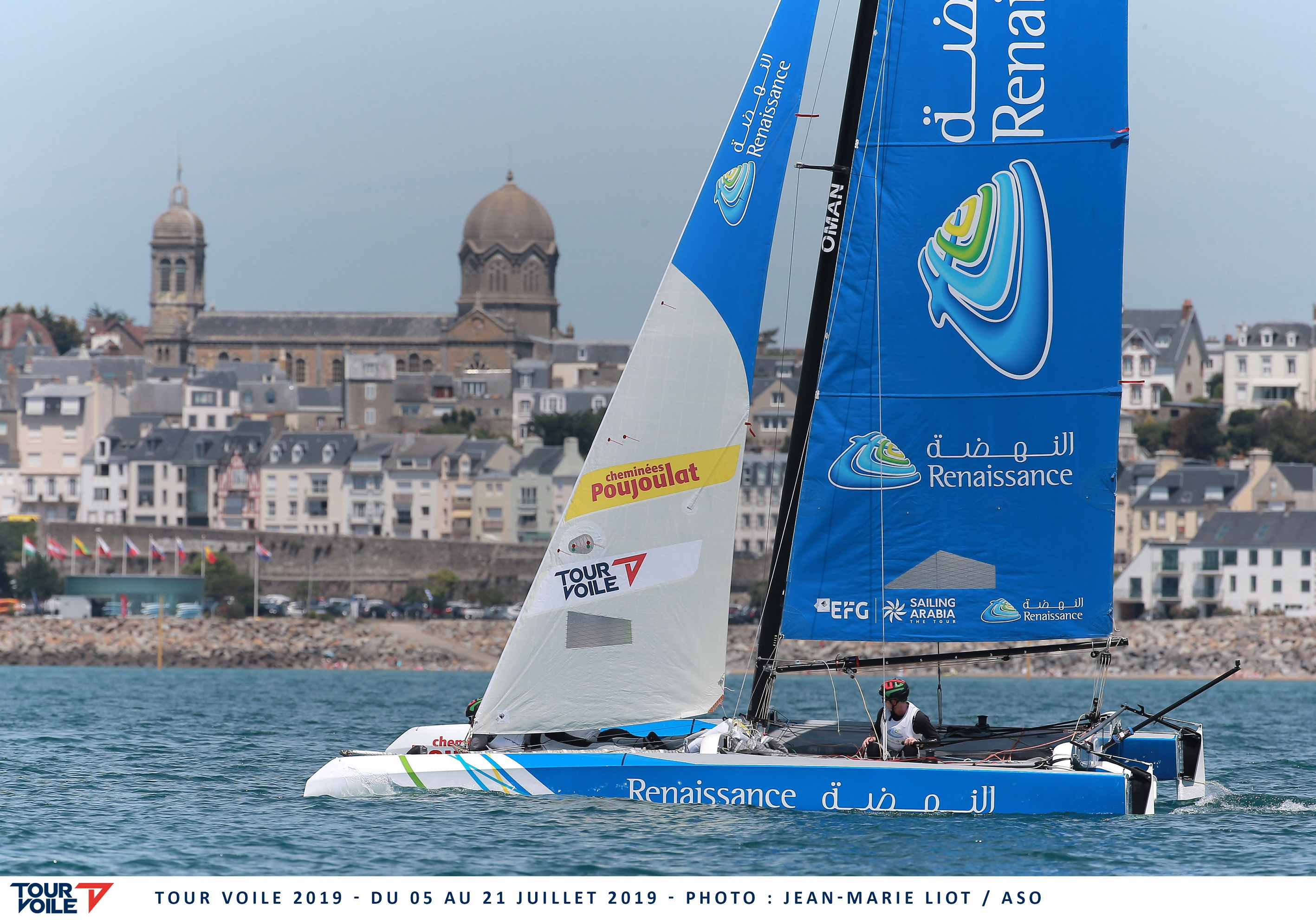 All to play for as Oman Sail teams reach mid-point of Tour Voile