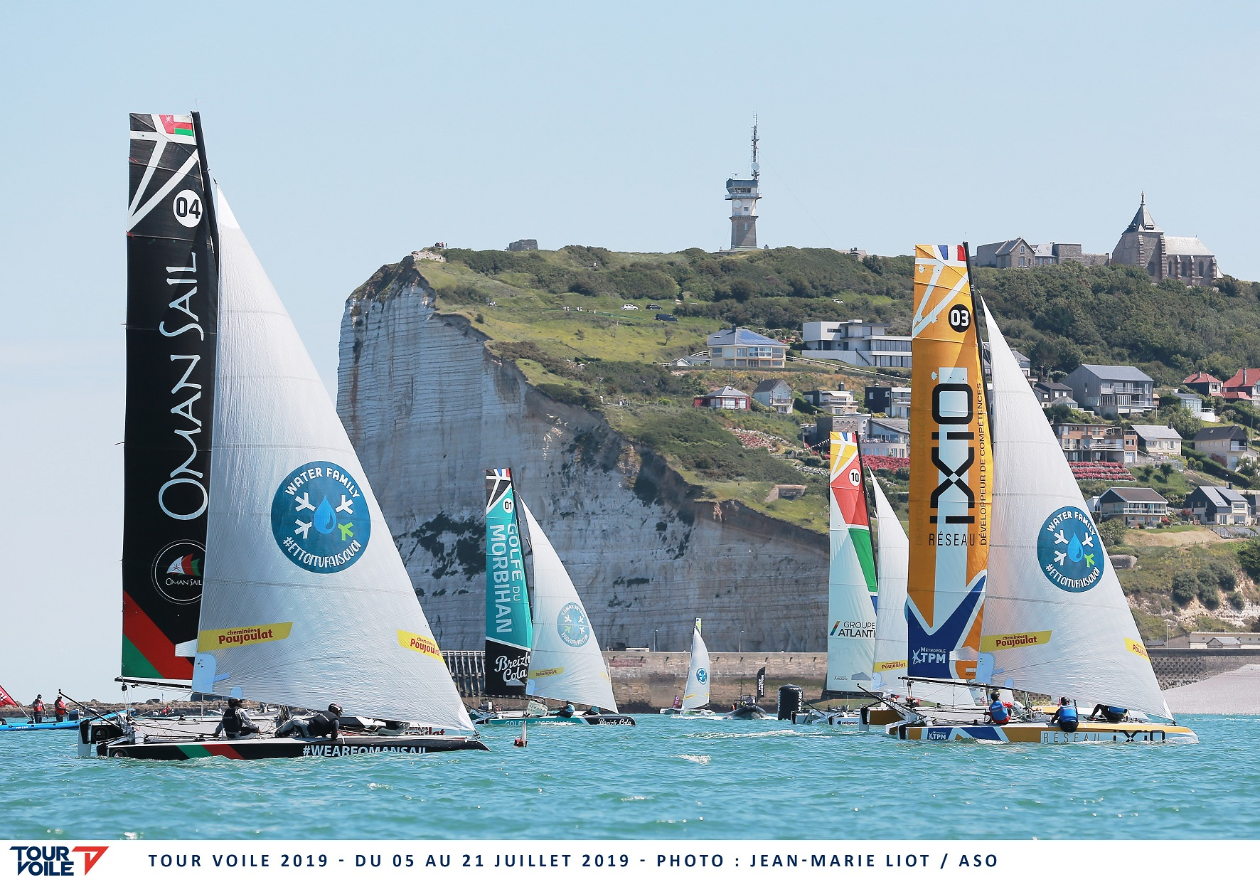 Oman Sail team make remarkable comeback to stay on course for Tour Voile target