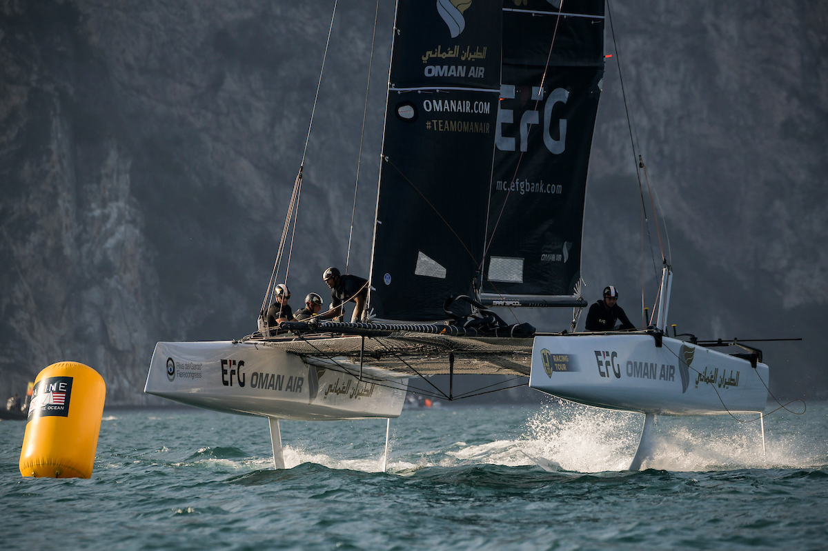 GC32 title stays in Team Oman Air's sights after Lake Garda tie-break goes against them