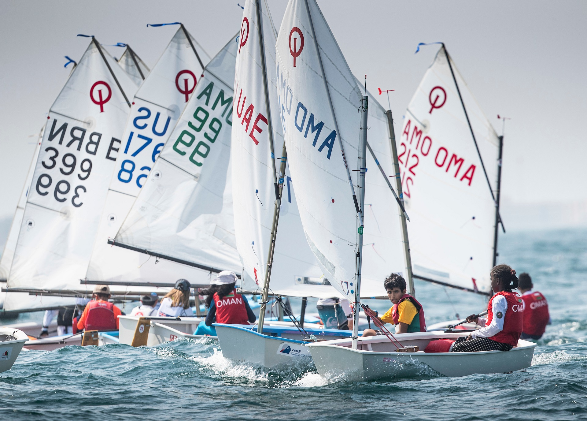 International Optimist championship gets off to a flying start in Oman