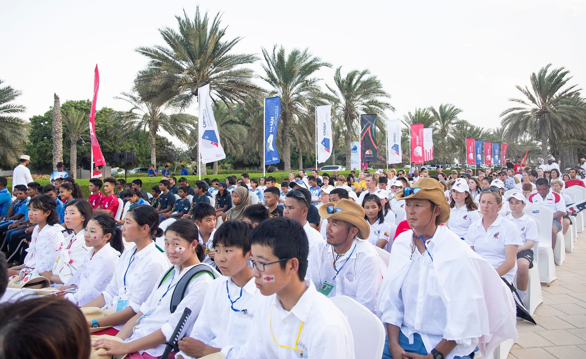 Oman welcomes many of world's best youth sailors to high-profile international championship