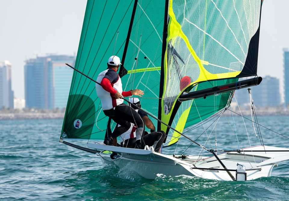 Omani 49er Olympic hopefuls ready for test in New Zealand