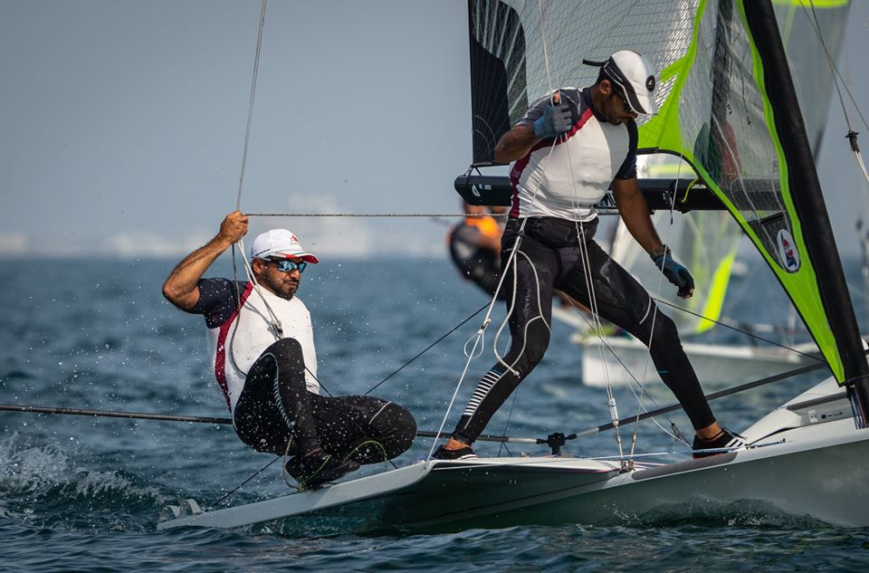 Path to Tokyo begins on wining note for Omani 49er Pair