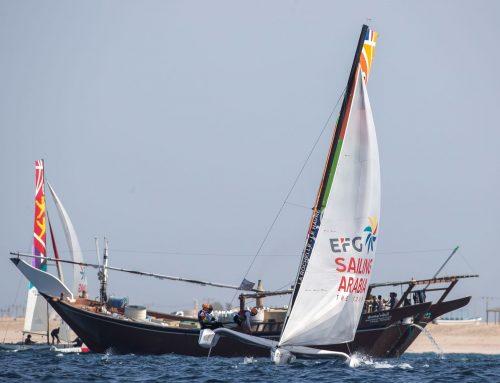 """الإعلان عن موعد إقامة النسخة الحادية عشر من بطولة الطواف العربي """"إي أف جي"""" للإبحار الشراعي 2021"""