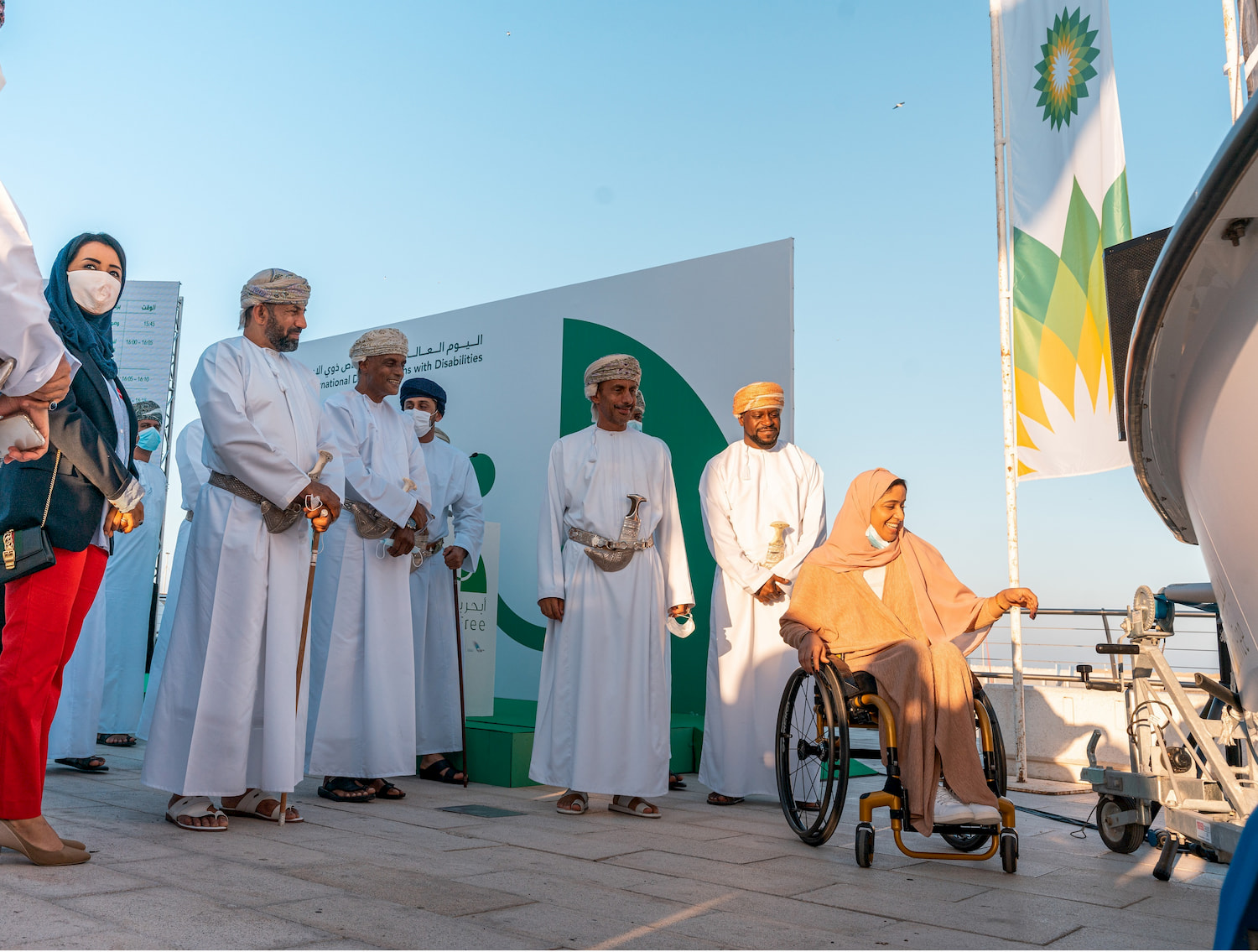 In partnership with bp Oman, Oman Paralympic Committee, Oman Sail officially introduces SailFree boats