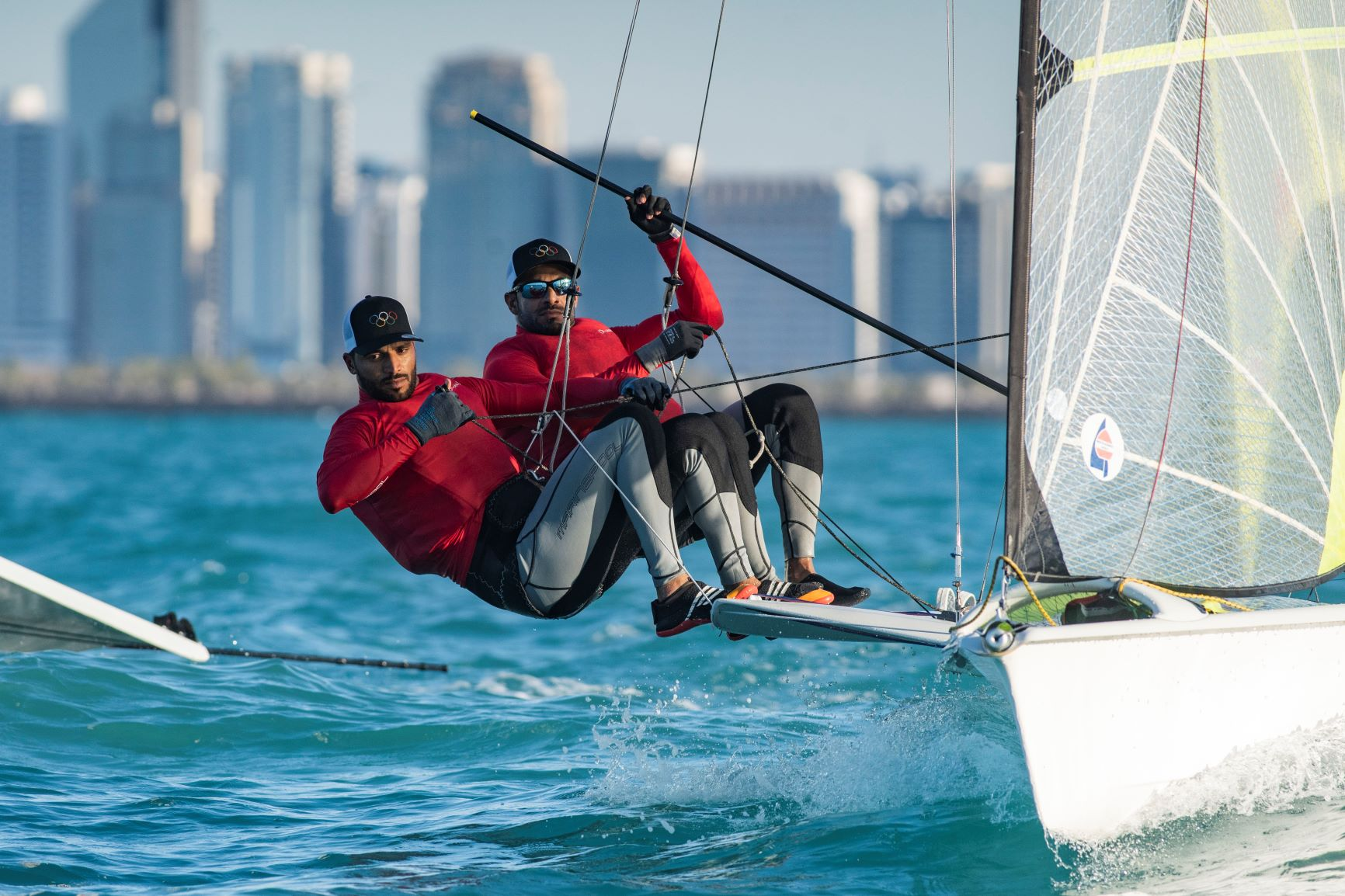 Oman Sail's 49er Olympic teams resume training in preparation for Tokyo Olympics qualifier event