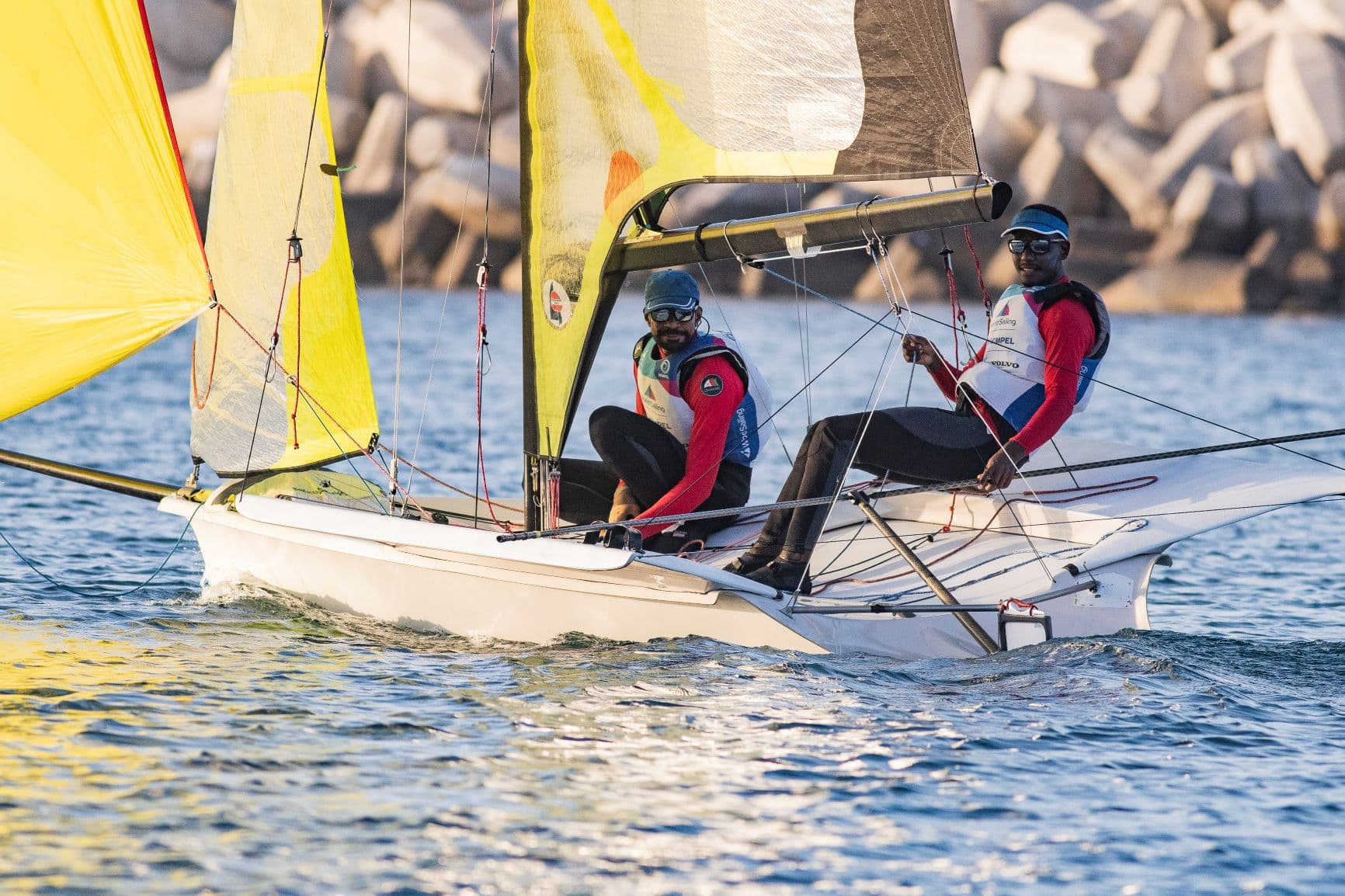 Oman Sail's 49er team ramps up preparations ahead of 2021 Asian Sailing Championship