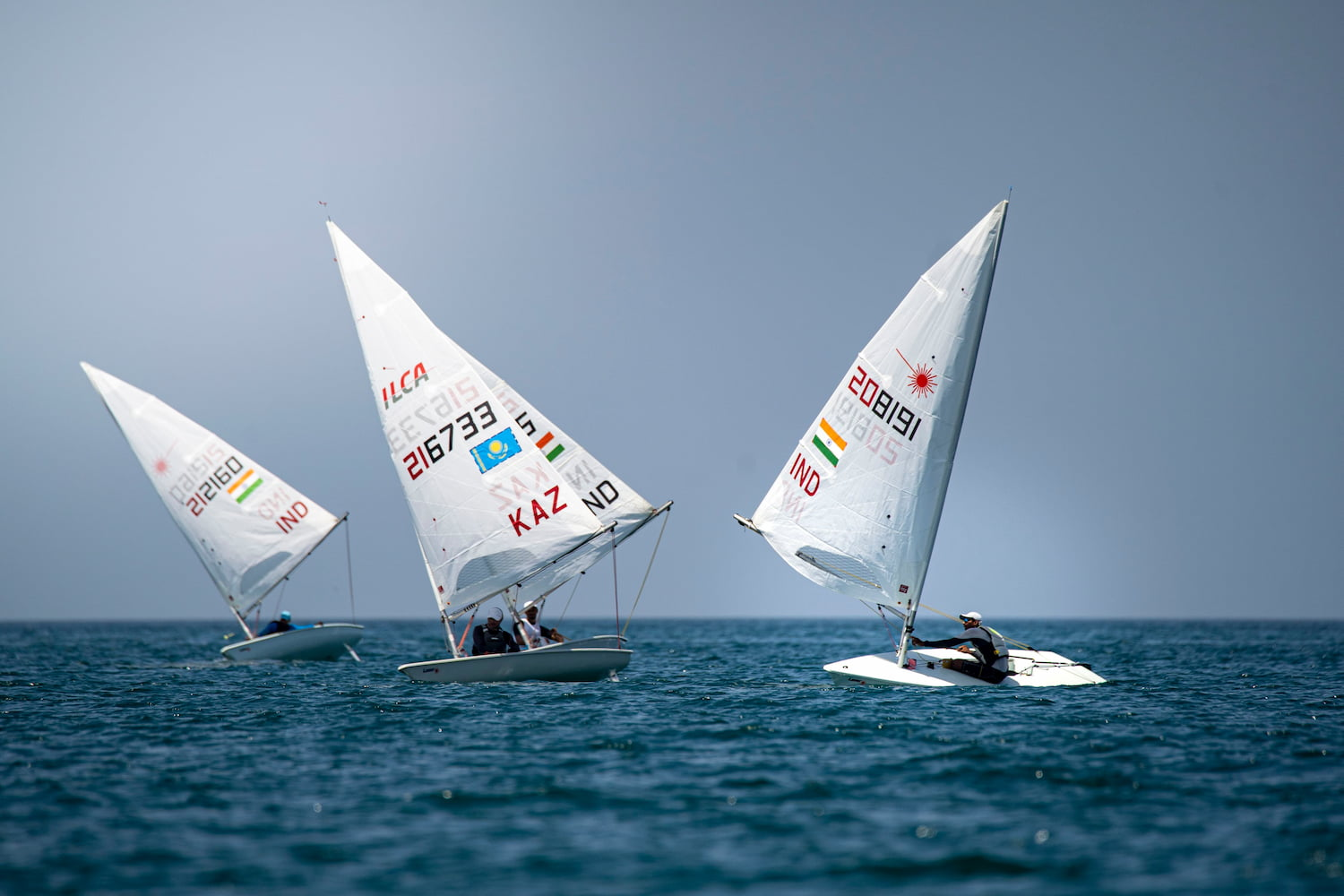 Olympic qualification still undecided at halfway point of the Mussanah Open Championship