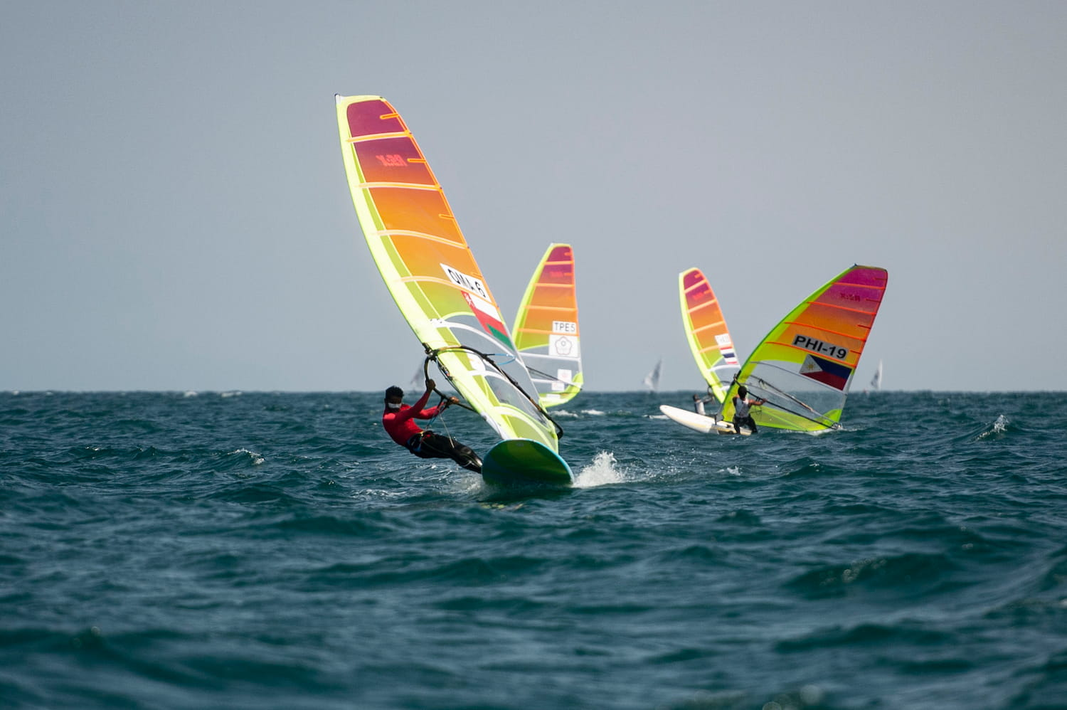 Sailors battle the elements on Day 4 of Mussanah Open Championship