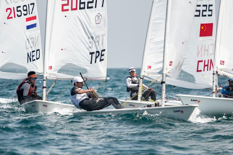 بطولة المصنعة المفتوحة للإبحار الشراعي تصل للمنتصف مع قرب تحديد المتأهلين لأولمبياد طوكيو 2021