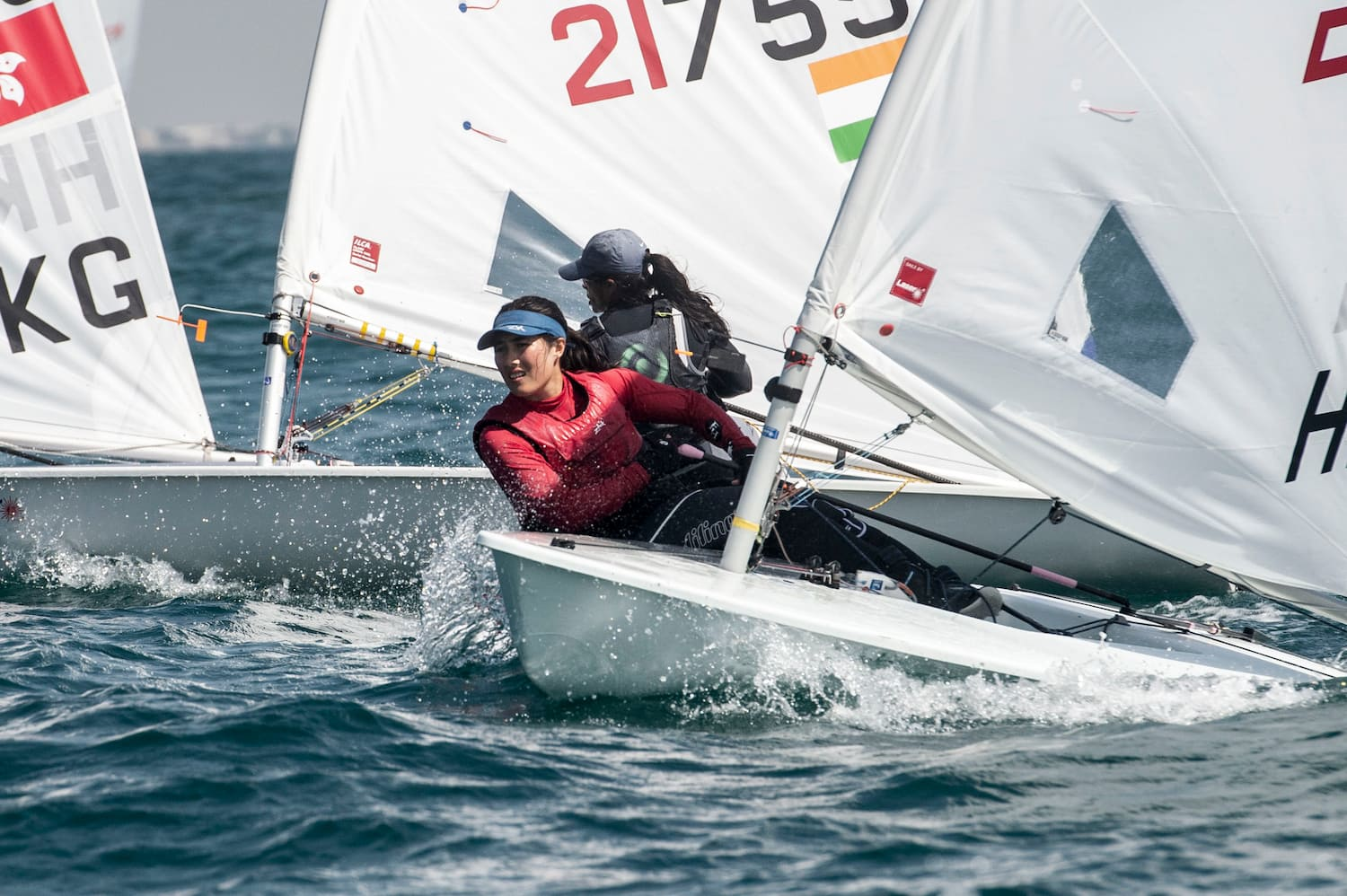 Olympic spot one step closer on penultimate day of Mussanah Open Championship organised by Oman Sail