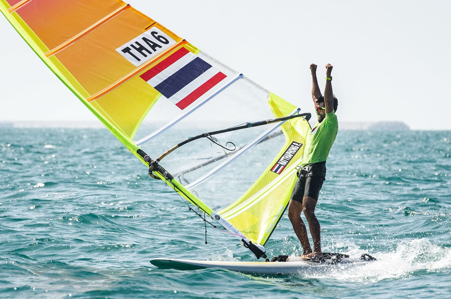 Olympic dream comes true for winners at Mussanah Open Championship after frantic final day on the water